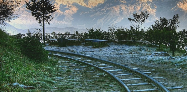 Darjeeling-train